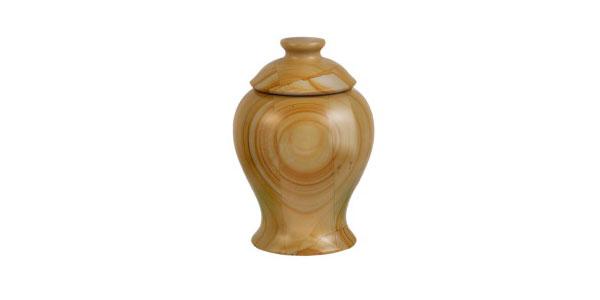 pet meadows teakwood urn